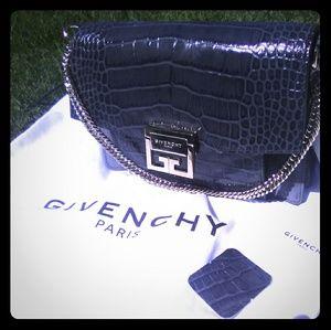 Givenchy GV3 small grey hand bag